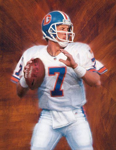 John Elway for The Upper Deck Company