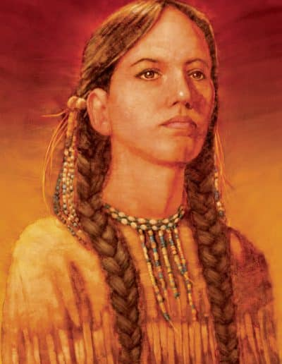 Sacajawea for Harcourt Press